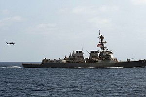 U.S. Official: Navy Fires At Radar Sites In Yemen After Navy Destroyer Was Ta...