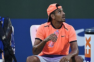 Tennis Star Nick Kyrgios Suspended For Tantrum At Shangha...