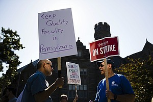 Pennsylvania Professors Go On Strike