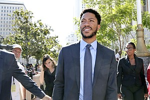 Jury Finds NBA Star Derrick Rose Not Liable In Civil Rape...