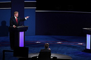 WATCH: Trump Won't Commit To Accepting Election Results In Final Debate