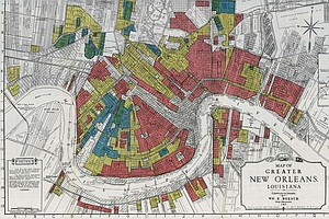 Interactive Redlining Map Zooms In On America's History Of Discrimination