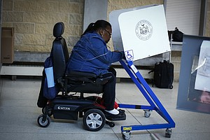 Voters With Disabilities Fight For More Accessible Pollin...
