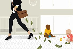 Poll: Cost Of Child Care Causes Financial Stress For Many Families