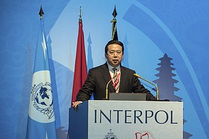 Chinese Public Security Official Is Elected To Lead Interpol