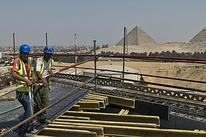 Fit For A King: Grand Museum Will Showcase Tut And Egypt's Ancient Culture