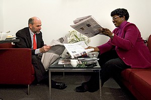 Gwen Ifill, Host Of 'Washington Week' And 'PBS NewsHour,'...