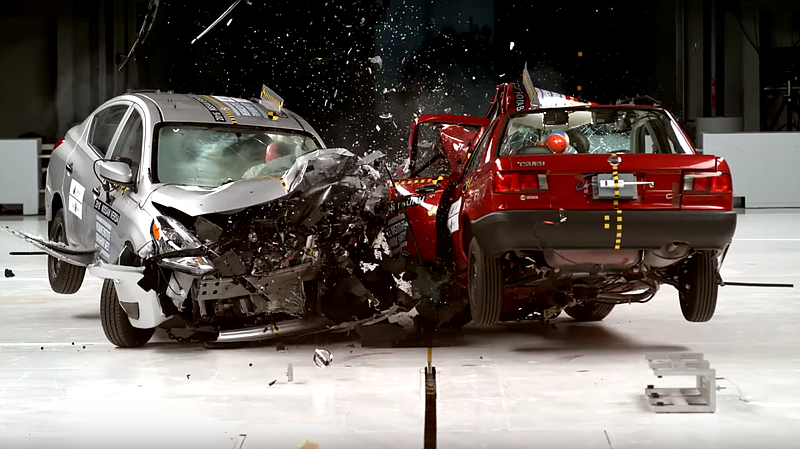 Crash Test Dummies Show The Difference Between Cars In Mexico And U S