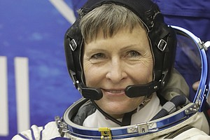 At 56, Peggy Whitson Becomes Oldest Female Astronaut