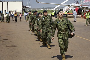 Japan Deploys Troops Authorized To Use Force For First Ti...
