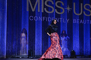 The Beauty Pageant Contestant Wore A Burkini