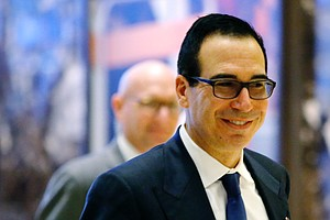 Trump Picks Steve Mnuchin To Lead Treasury Department