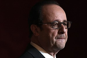 French President Francois Hollande Says He Won't Seek Re-Election