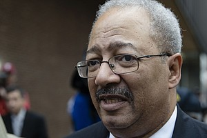 Former Rep. Chaka Fattah Sentenced To 10 Years For 'White-Collar Crime Spree'