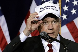Is Sessions, Trump's Attorney General Pick, Trying to Paper Over His Record?
