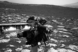 Curiosity Rover Encounters Technical Difficulties On Martian Mountain