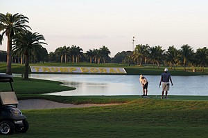 Trump's Doral Golf Course Highlights His Conflicts Of Interest
