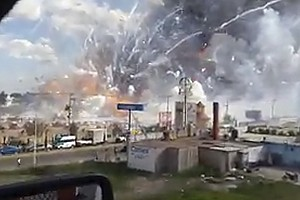 Deadly Explosion Rips Through Fireworks Market Near Mexic...
