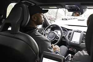 Uber Stops Self-Driving Test In California After DMV Pull...