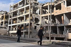 Emptied East Aleppo Now Regime-Controlled, But Syria's Ci...