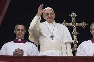 Pope Francis Offers A Message Of Peace In Annual Christma...
