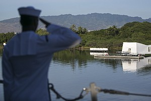 At Pearl Harbor, Obama And Japan's Leader Tout Reconciliation
