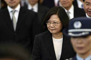 In Transit, Taiwan President Set To Stop In U.S., Much To China's Displeasure