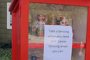 A New Type Of Food Pantry Is Sprouting In Yards Across Am...