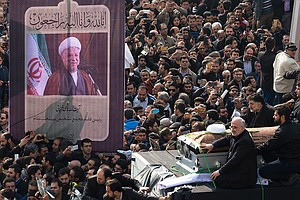 Death Of A Former Iranian President May Shape The Race For The Next One