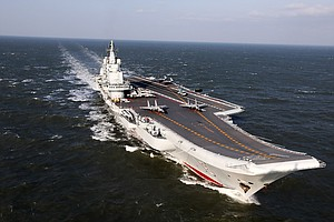 China Sends Aircraft Carrier Into Taiwan Strait, A Provocative Move