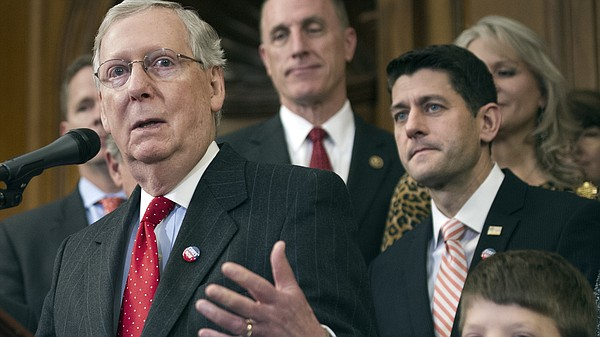 Senate Majority Leader Mitch McConnell and House Speaker ...