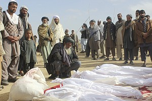 U.S. Forces 'Acted In Self-Defense' In Battle That Killed 33 Civilians In Afg...
