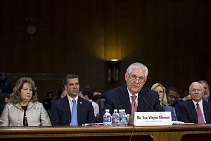 In China, State Media Blast Tillerson's Comments On South China Sea Islands