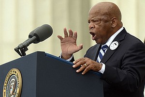 Trump Attacks Civil Rights Hero Lewis As 'All Talk' After...