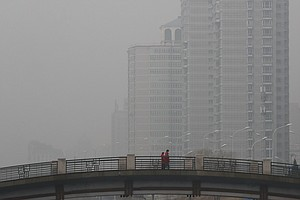 In China, Pollution Fears Are Both Literal And Metaphorical