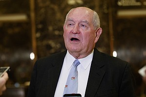 Trump To Nominate Former Georgia Gov. Sonny Perdue To Hea...