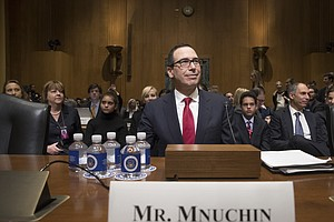 WATCH LIVE: Trump Treasury Nominee Defends Profiting From...
