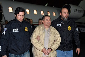 Notorious Drug Lord 'El Chapo' Pleads Not Guilty To Feder...