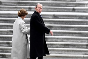 #Meme Of The Week: George W. Bush Battles Poncho At Inauguration And Loses