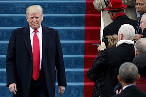In Inaugural Address, Trump Decries 'Carnage' And Promise...