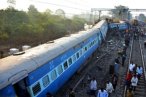 At Least 39 People Killed After Train Derails In Southeast India