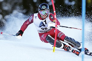 U.S. Skier Wins The Crowd, Even As He Loses The Race In A...