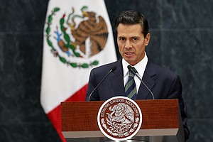 Mexico's President Cancels Planned D.C. Trip To Meet With...