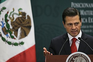 As Wall Moves Forward, Mexico's President Mulls Canceling U.S. Trip