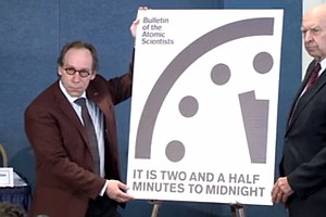 The Doomsday Clock Is Reset: Closest To Midnight Since The 1950s