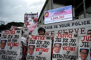 Philippines Temporarily Halts Anti-Drug Raids, Citing Crimes By Police