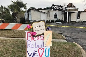 Donations To Torched Texas Mosque Top $1 Million In Outpo...