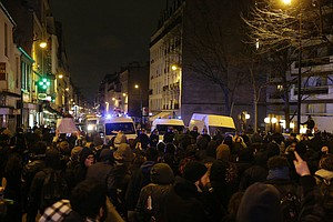Demonstrations Continue Around Paris Over Alleged Sexual Assault By Police