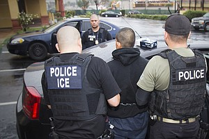 75 Percent Of Immigration Raid Arrests Were For Criminal ...