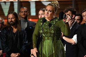 2017 Grammy Awards: Adele Upsets Beyoncé, Chance Arrives,...
